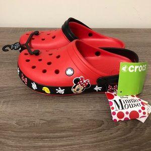 Brand New Minnie Mouse Crocs